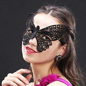Black Butterfly Mask